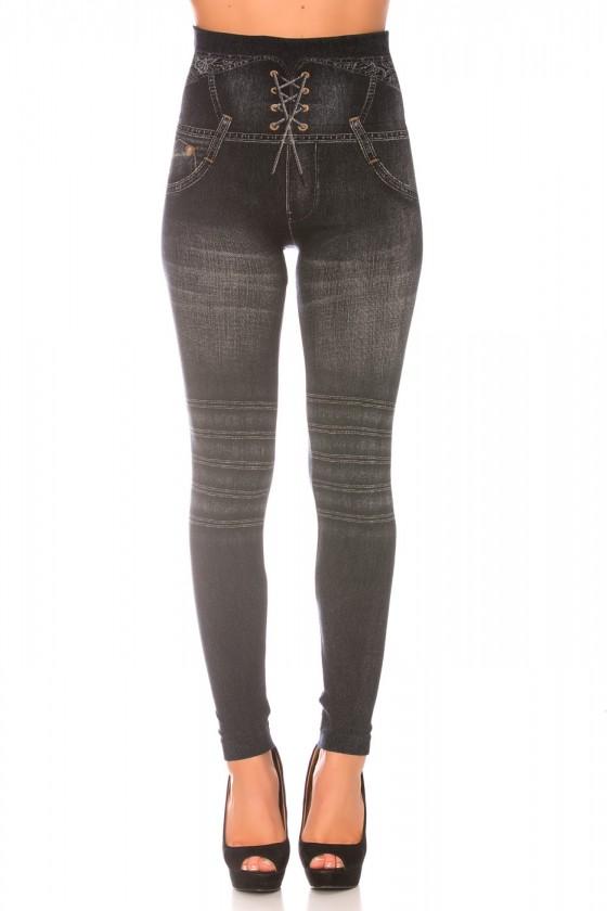 Leggings minceur noir style...