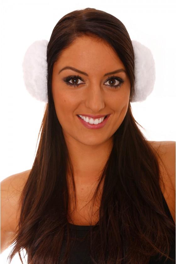 Cache oreilles Blanc Style...
